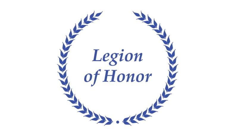 Legion of Honor in wreath