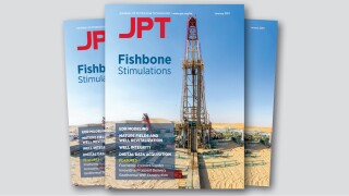 Cover of January 2021 JPT