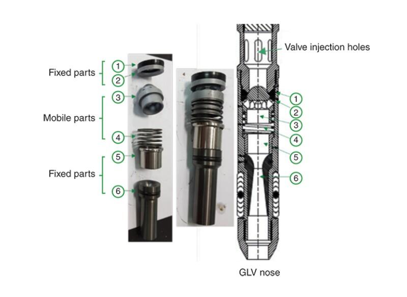 Details of alpha model parts.
