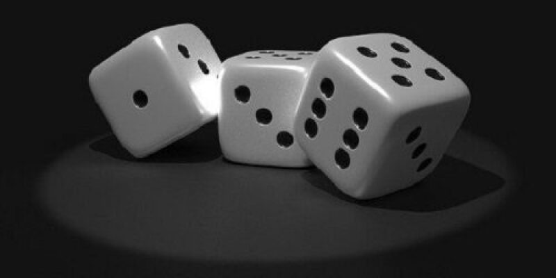 Graphic of a pair of dice