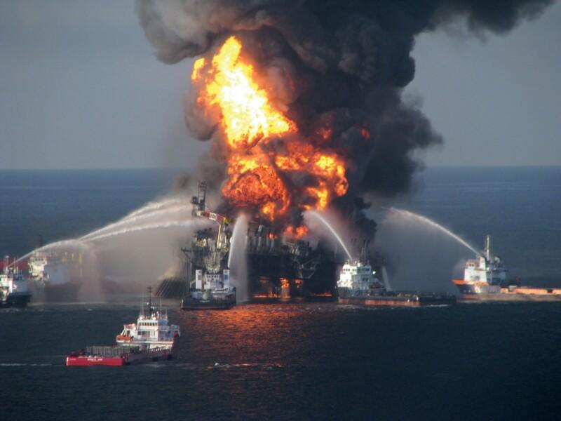 Picture of Deepwater Horizon Oilfield Disaster