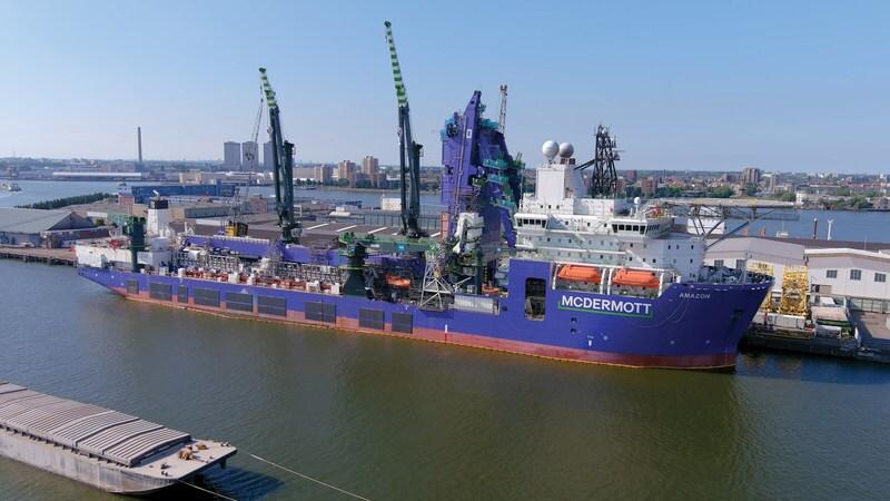 McDermott Amazon vessel
