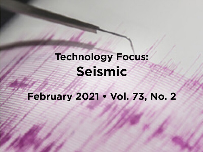 Seismic background with Intro text