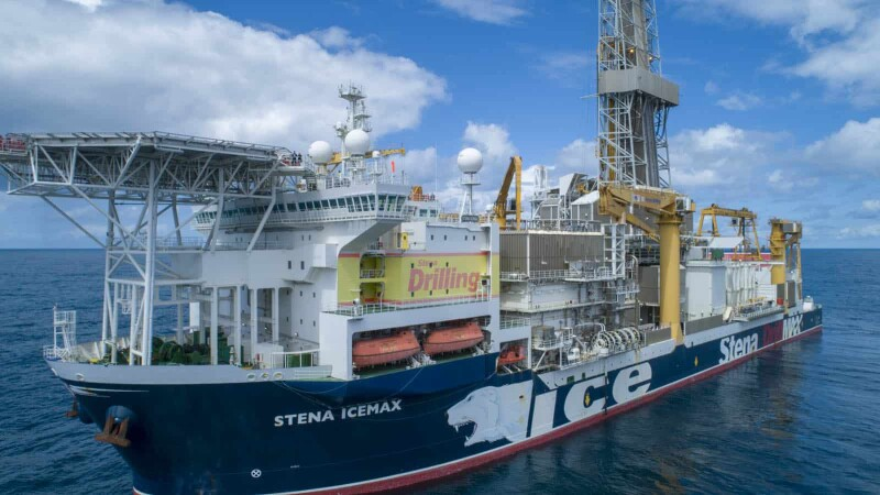 The Stena IceMax drillship will execute Energean's 2022–2023 drilling program offshore Israel in collaboration with Halliburton Consulting and Project Management.