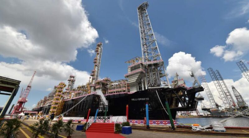 Golar LNG's Hilli Episeyo floating LNG unit