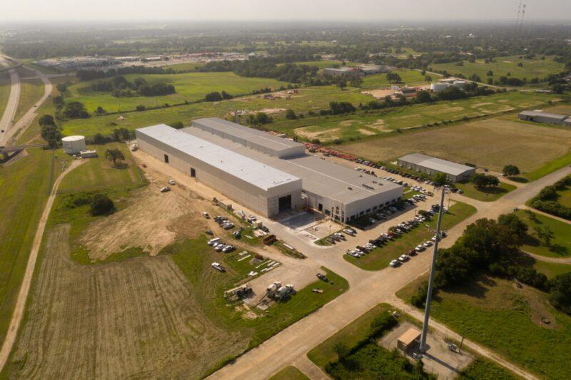 Logan Industries' facility in Texas