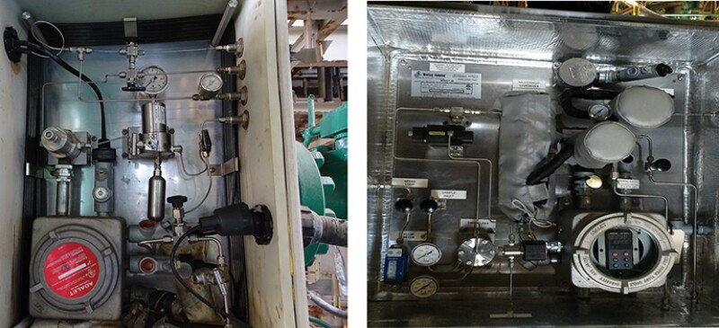 sales gas sample conditioning system