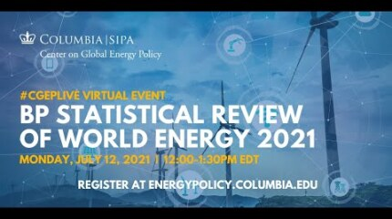 bp Statistical Review of World Energy 2021
