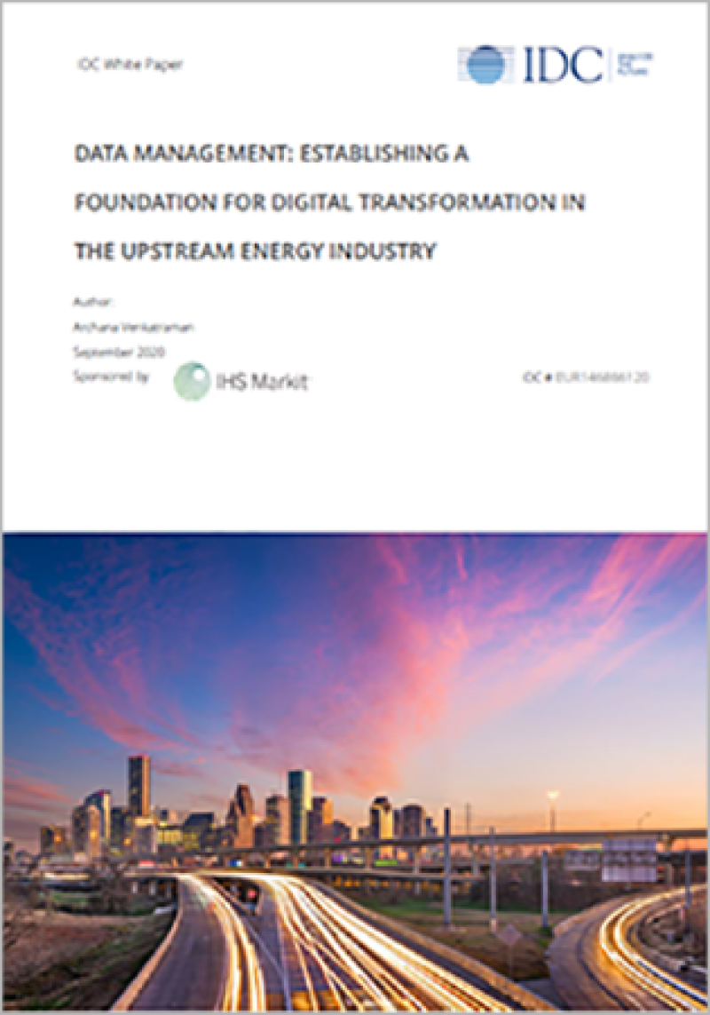 Cover of Markit energy white paper