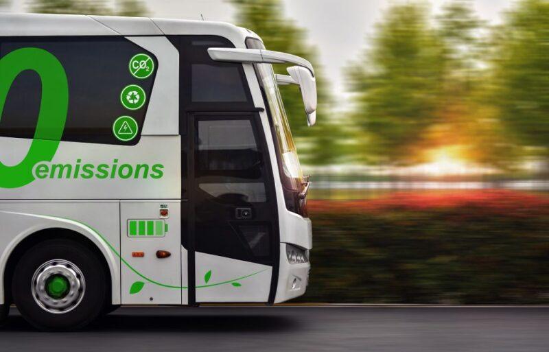Low CO2 emission bus
