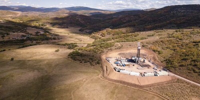 Remote well site