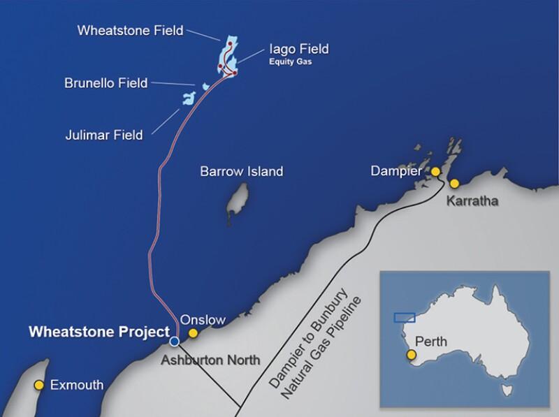 Wheatstone asset, including the Wheatstone and Iago fields.