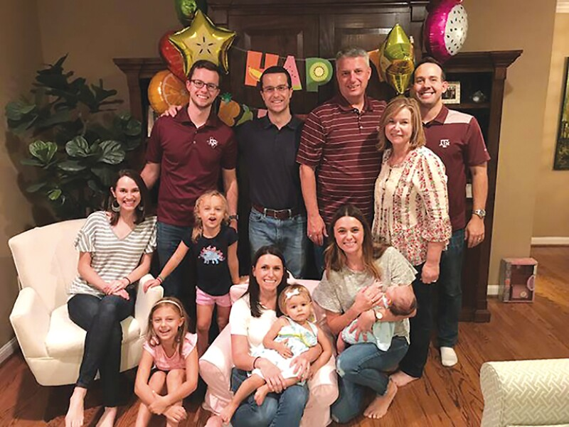 Stephen Graham and family