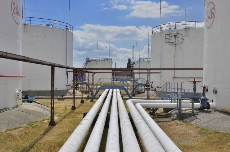 Piping and storage tanks