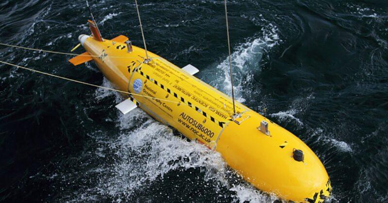 National Oceanographic Center autonomous marine vehicle
