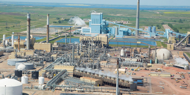 Image of Great Plains Synfuels Plant in North Dakota