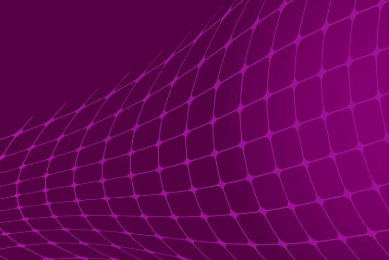 warped mesh on purple background