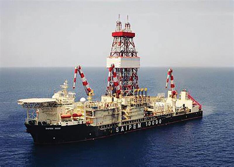 Drillship Saipem 10000.