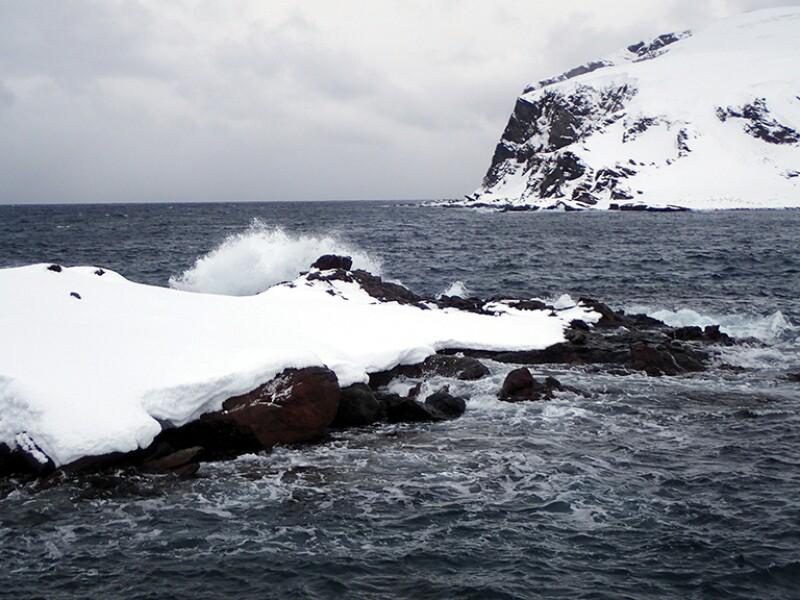 waves at the Barents sea