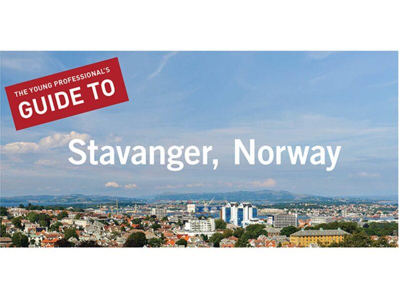 Stavanger, Norway Cityscape View