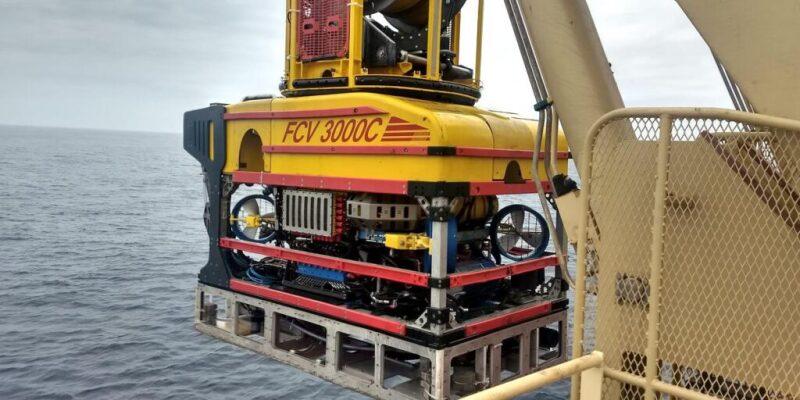 Fugro remotely operated vehicle