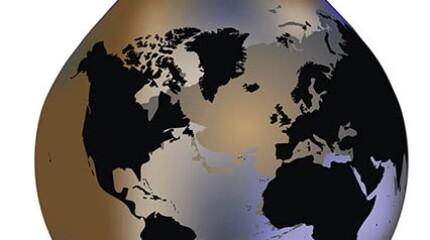 oil drop globe