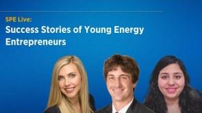 SPE Live: TWA Influencers - Success Stories of Energy Entrepreneurs