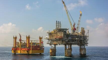 Malampaya offshore gas field.