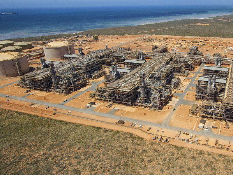 Gorgon LNG facility
