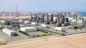Industrial activity in Abu Dhabi