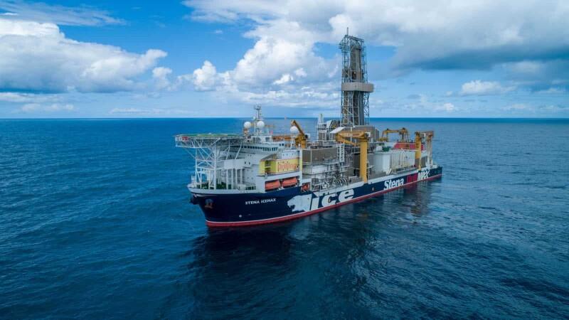 Stena IceMAX drillship