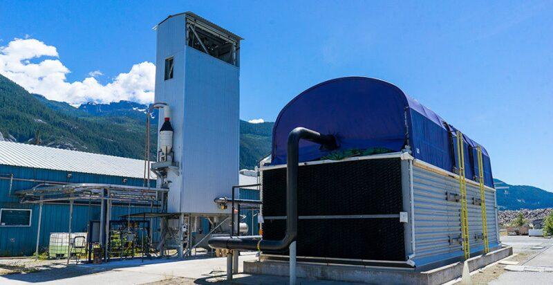Pilot carbon capture system