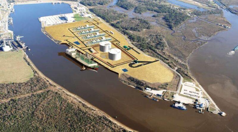 Magnolia LNG project in Lake Charles, Louisiana