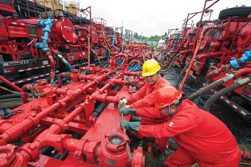 China's Sichuan shale basin in Daqing