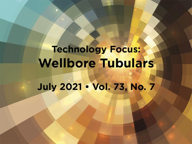 Wellbore Tubulars intro with abstract background