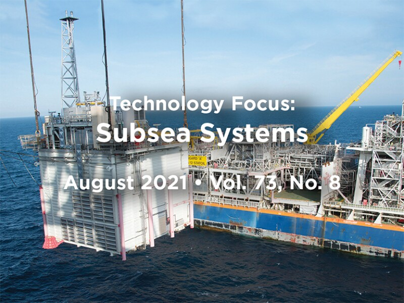 Subsea Systems Intro with offshore platform