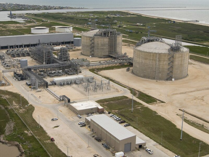 Freeport LNG facility