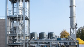 pilot plant in Switzerland to turn hydrogen and carbon dioxide into synthetic gas