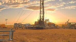 Helium drilling operations at Desert Mountain Energy's Holbrook project in Arizona.