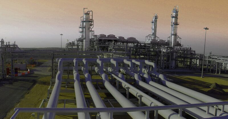 Image of SNOC gas plant