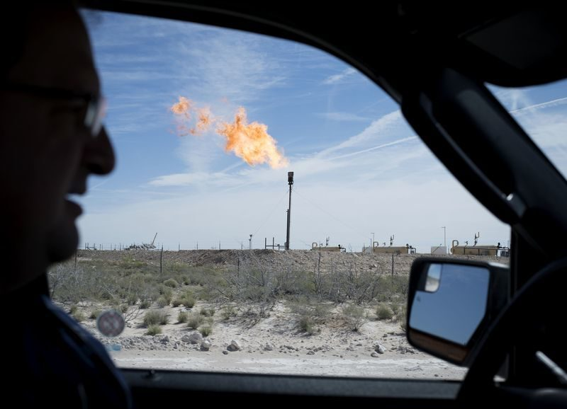 Flare in the Permian Basin