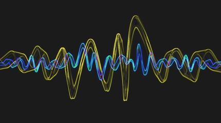 fast-moving pressure pulse