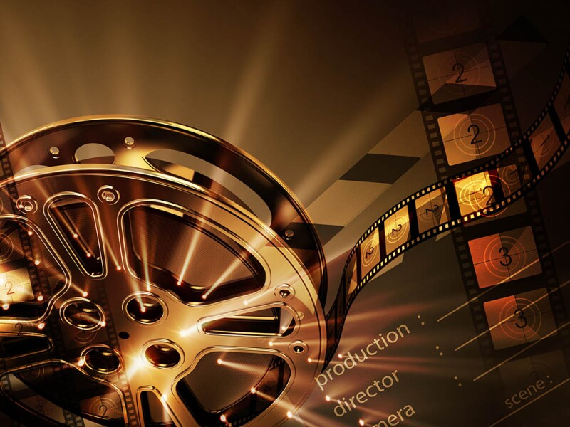 Cinema background (horizontal)