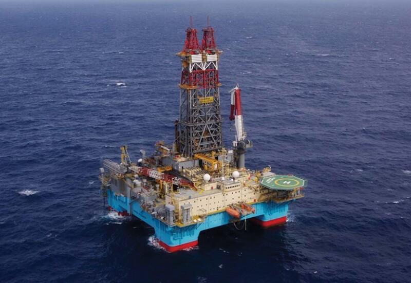 Maersk Developer rig.