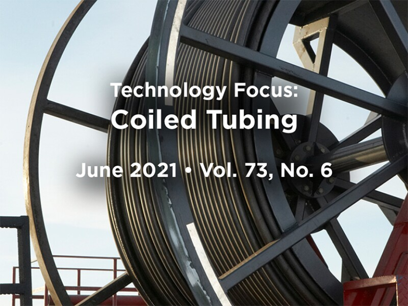 Coiled Tubing on a wheel