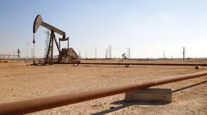 Pump jack in Oman