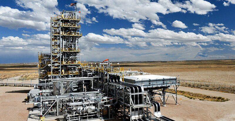 Shute Creek carbon capture demonstration plant