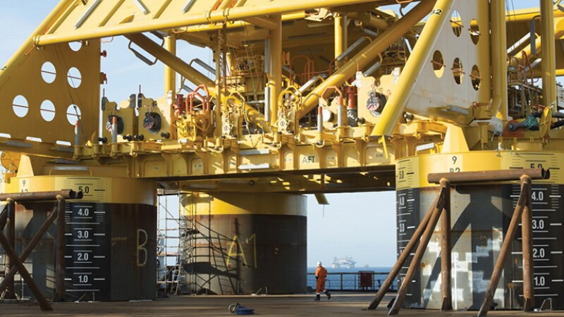 The Tyrihans project offshore Norway.