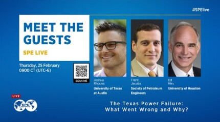 SPE Live: The Texas Power Failure — What Went Wrong and Why?