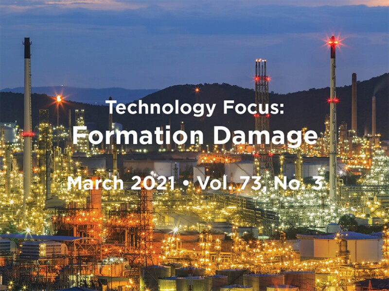 Formation Damage intro text with oil production plant